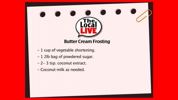 butter cream  recipe still