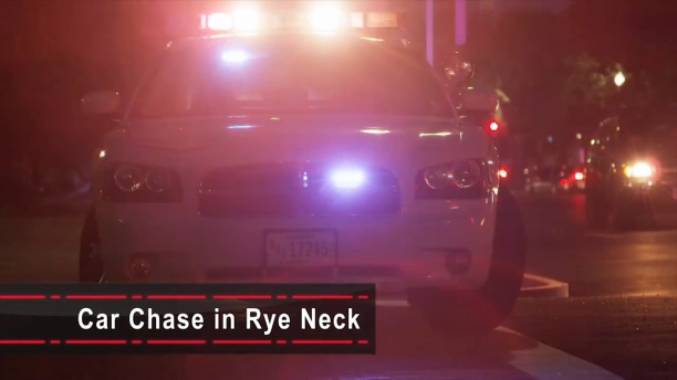 Car Chase in Rye Neck