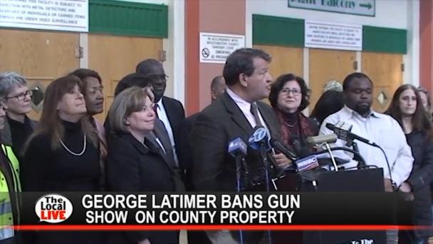George Latimer Bans Gun Show