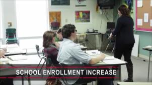 School Entrollment Increase